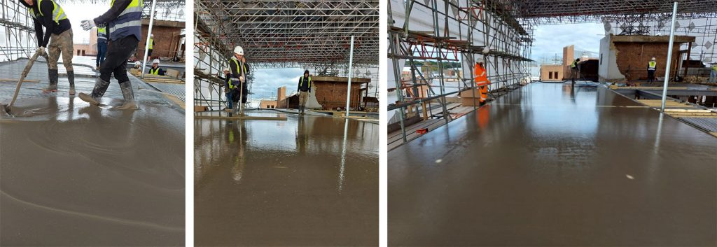 Mixamate liquid screed laying service